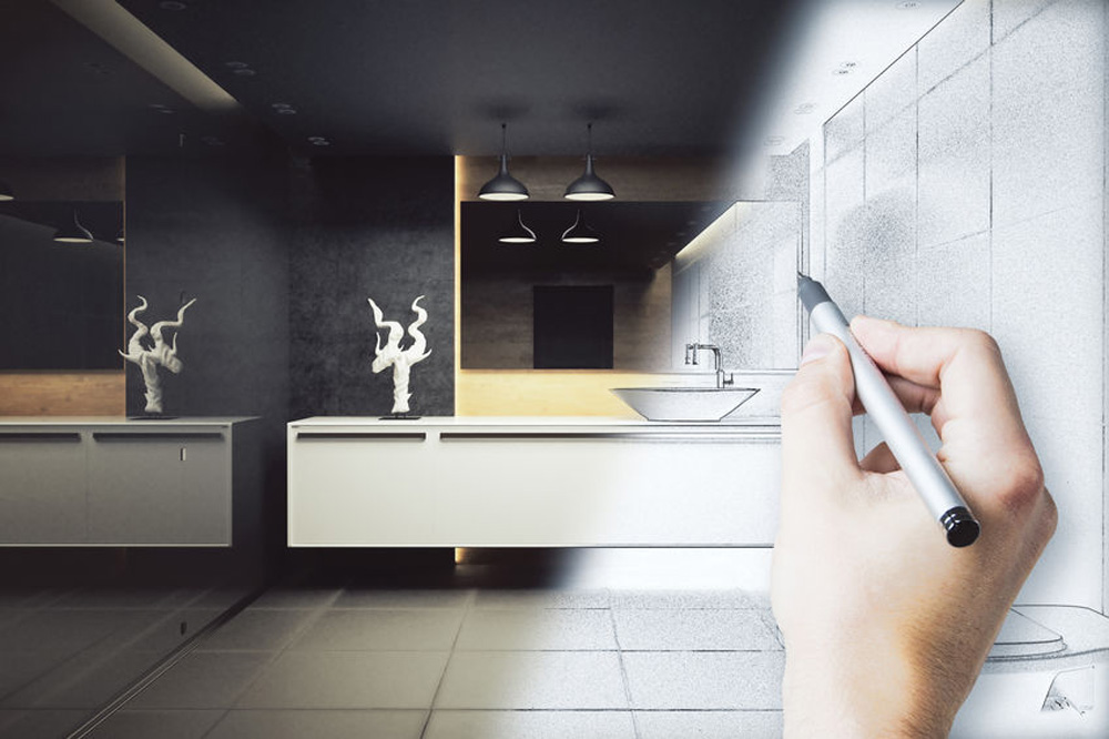 Conception et création salle de bain