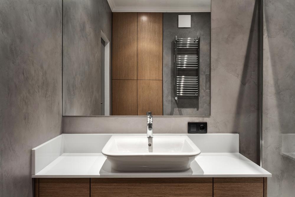 Vasque design à poser - création salle de bain à Caen