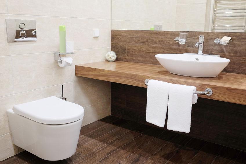 Nos plombiers de Caen installent des WC suspendus
