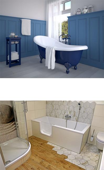 Plombier Caen installation baignoire