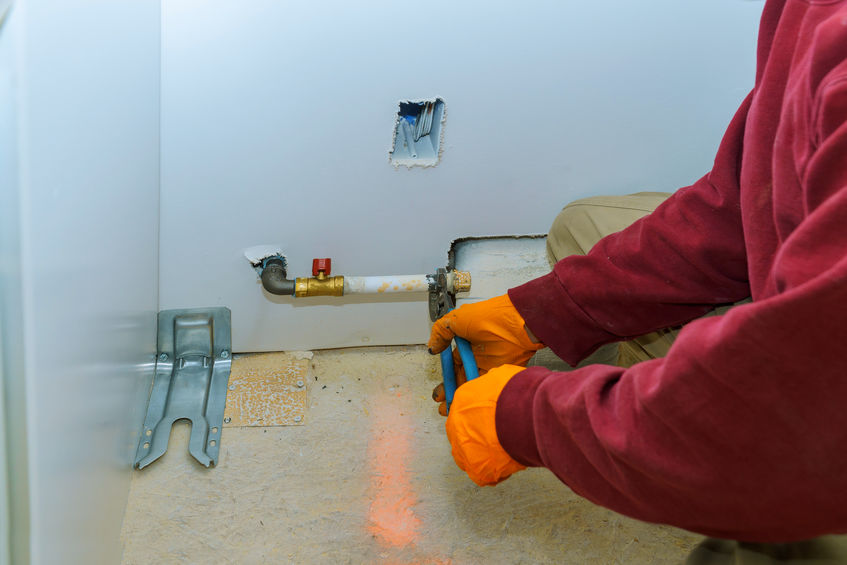 Plombier Caen raccordement au gaz de ville