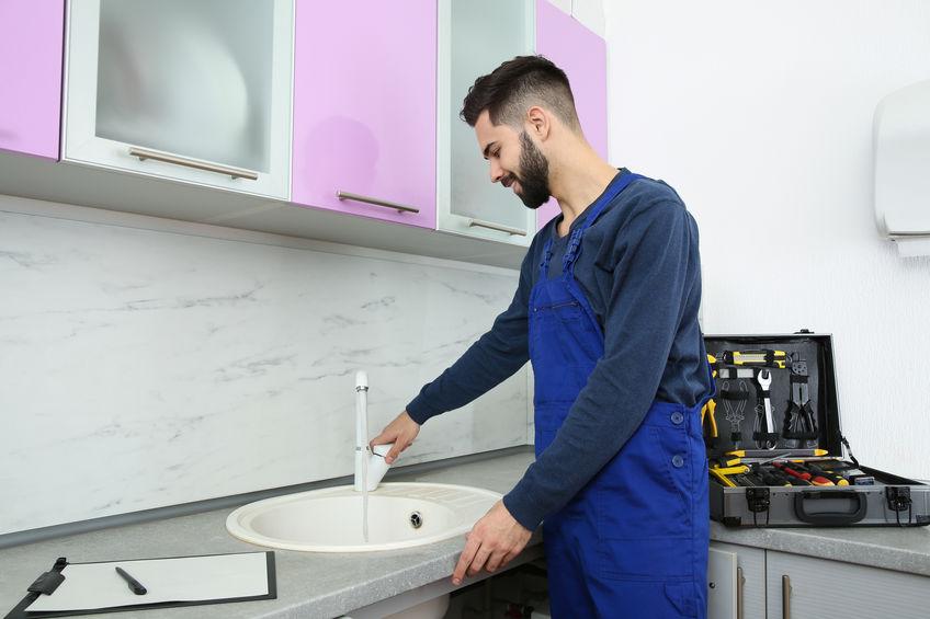 Pose et installation évier de cuisine à Caen